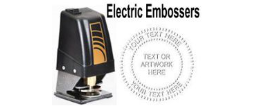 Electric Embossing Seals