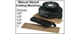 Manual Stencil Cutting Machines