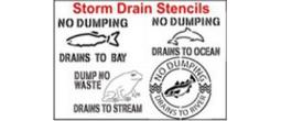 Storm Drain Stencil Sets