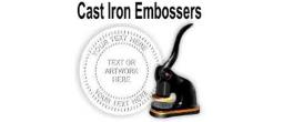 Cast Iron Embossing Seals