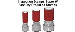 Pre-Inked Super W Stamps