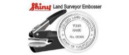 Land Surveyor Embossing Seals