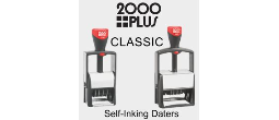 2000Plus Classic Self-Inking Daters & Numberers