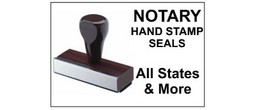 Handle Stamp Notary Stamps, for each State