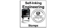 Self Inking Engineering Stamp