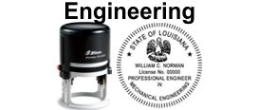 Self Inking Engineering Stamp