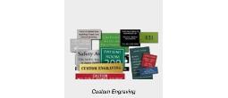 Engraved Nameplates, Name Badges and Signage