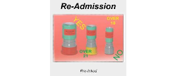 Re-Admission UV Ink, Lamps & Stamps