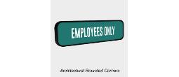 Plastic Sign Frames, Rounded Corner