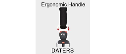 Ergonomic Safe Dater Handles