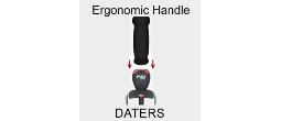 Ergonomic Safe Dater Handles