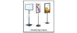 Standing Sign Frames / Pedestal Sign Frames