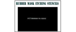Rubber Mask Etching Stencils