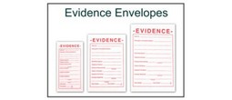 Evidence Envelopes - White