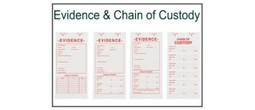 Evidence & Chain of Custody Labels