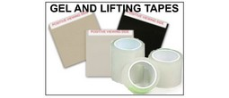 Latent Print Lifting Tapes, Rubber Gel Lifters