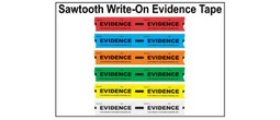 Evidence Tape - Sawtooth Write-On