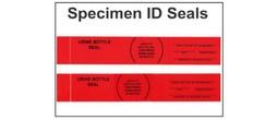 Seals - Specimen Security/Identification