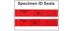 Seals - Specimen Security/Identification