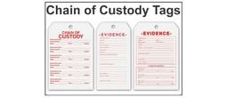 Tags - Evidence & Chain of Custody