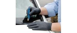 Black Nitrile Barrier Gloves