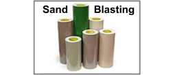 Sand Blast Rubber Stencil Material and Custom Cut Stencils