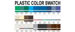 Plastic Color Swatch