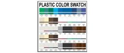 Plastic Color Swatch