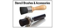 Stencil Brush Applicator Sets