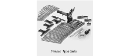 Prenco-Type Sets, Inks and Misc Prenco Parts