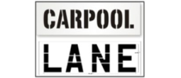 Carpool Stencils, Many shape and sizes to choose from