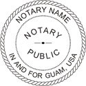 Guam Notary Embosser