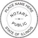 ILLINOIS Notary Embosser Illinois Notary Public Embossing Seal Illinois Notary Public Notary Public