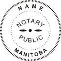 Manitoba, Canada Notary Embosser Manitoba Notary Public Embossing Seal Manitoba Notary Embosser Manitoba Notary Public Seal