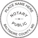 Maryland Notary Embosser