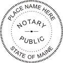 Maine Notary Embosser Maine State Notary Public Embossing Seal Maine Notary Public Embossing Seal Notary Public Embossing Seal Notary Public Seal