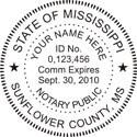 Mississippi Notary Embosser Mississippi Notary Public Embossing Seal Mississippi Notary Public Mississippi Notary Public Seal