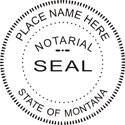 Montana Notary Embosser Montana State Notary Public Embossing Seal Montana Notary Public Embossing Seal Montana Notary Seal