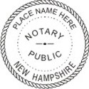 New Hampshire Notary Embosser