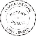 New Jersey Notary Embosser