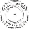 Pennsylvania Notary Embosser Pennsylvania State Notary Public Seal Pennsylvania Notary Public Pennsylvania Notary Public Seal