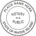 Rhode Island Notary Embosser Rhode Island Notary Public Embossing Seal Notary Public Embossing Seal Notary Public Seal