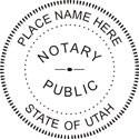 Utah Notary Embosser Utah State Notary Public Embossing Seal Utah Notary Public Embossing Seal Utah Notary Public Seal Notary Public Seal