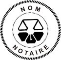 Quebec Notary Embosser
