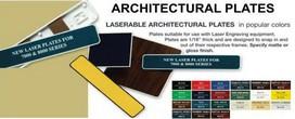 Architectural Engraveble Plates