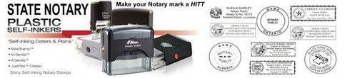 State Self Inking Notary Stamp Notary Stamps and Supplies Notary Stamp Self Inking Notary Pre-Inked Notary Notary