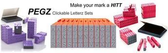 PEGZ Clickable Letterz Sets