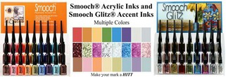 Smooch Acrylic Accent Inks
