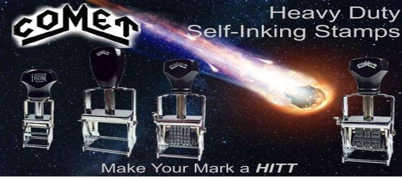 Comet Self-Inking Line Daters