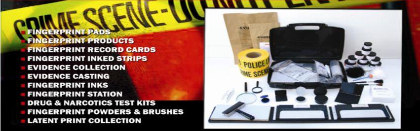 Basic Portable Fingerprint Kits Fingerprint Kits Fingerprinting Kit